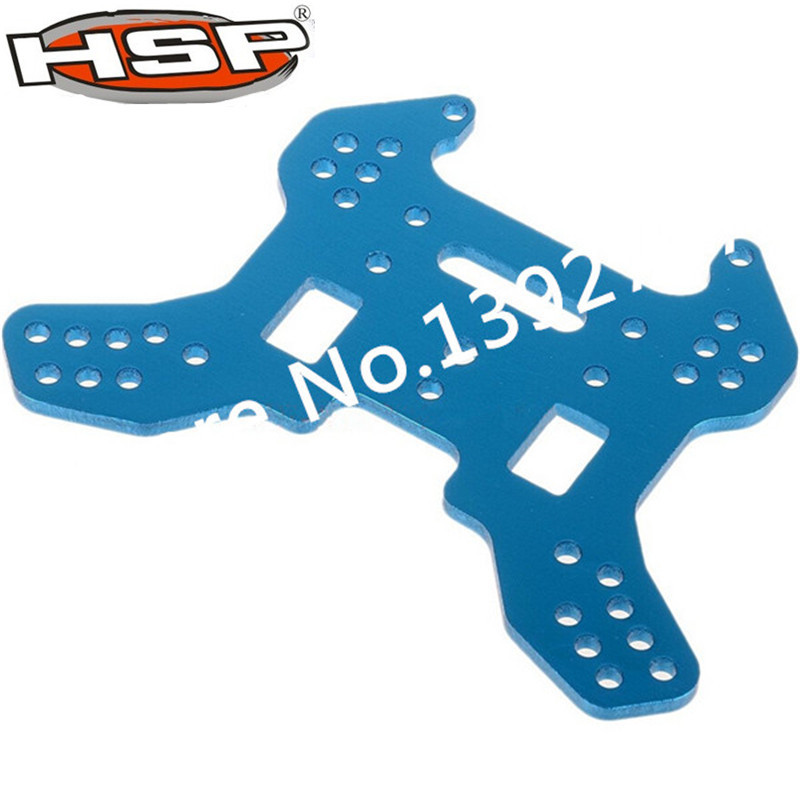 HSP 1/8 Racing RC Cars Spare Parts 60008 Rear Shock Tower For Nitro Power Off Road Monster Truck Buggy NOKIER BAZOOKA 81039 hsp 1 8 spare parts metal clutch bell 14t accessories for rc model car nitro power off road buggy monster truck