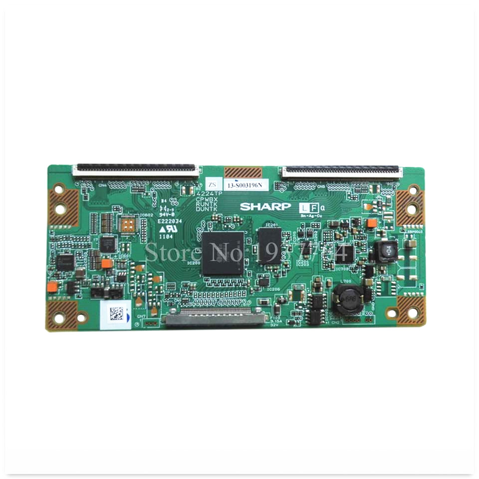 good working High quality for original second-hand 4224TP ZS CPWBX RUNTK DUNTK logic board 95% new good working high quality original board 4163tp cpwbx runtk cpwbx4163tp zz t con logic board
