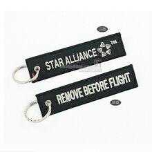 STAR ALLIANCE ярлык для багажной сумки аксессуар с черной вышивкой лучший подарок для летной команды любитель авиации