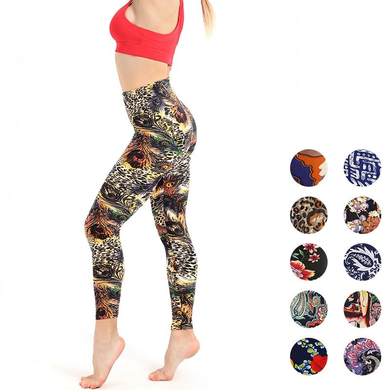 Women Leggings Polyester Casual Women's Sportwear Leggins High Waist Push Up Fitness Legging Elastic Workout Leggings For Women