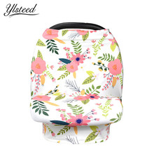 2018 New Baby 3D Floral Nursing Covers Car Seat Cover Shopping Cart Canopy Baby Feeding Breastfeeding Cover Nursing Apron Scarf