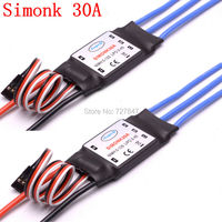 2 PCS 30A SimonK Prgramme RC Brushless ESC With BEC 3A For Axis Quadcopter Multicopter