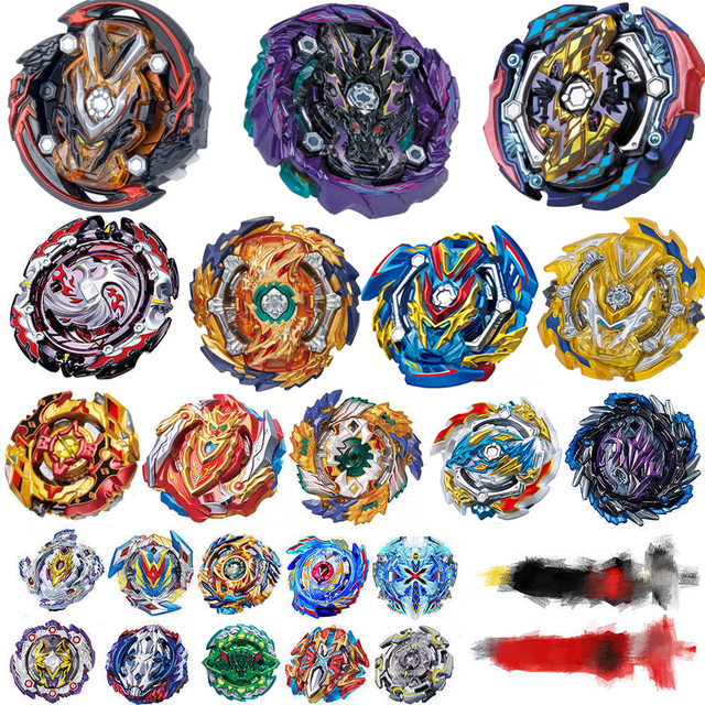 Tops Burst Launchers Beyblade GT Toys B-142 Burst bables Toupie Bayblade metal fusion God Spinning Tops Bey Blade Blades Toy