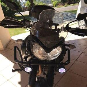 Image 5 - Motorrad Handprotektoren Motocross Carbon 22mm 7/8 LED Blinker Fallen Schutz Pit Bike Enduro Hand Protektoren für Suzuki