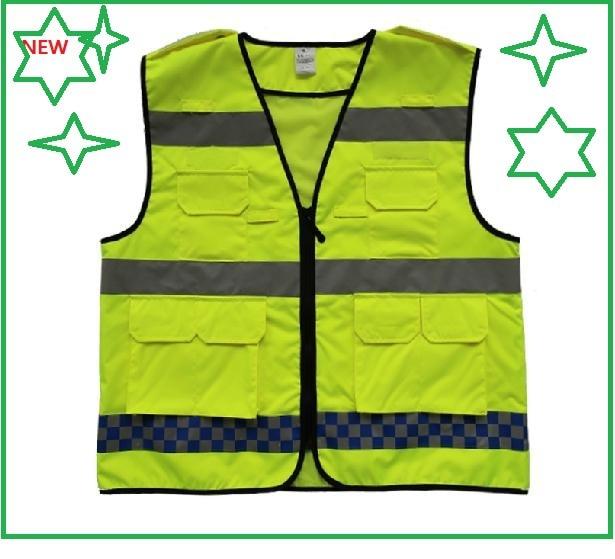 ФОТО Reflective cycling sports vest construction protective clothingt  reflective safety traffic garments