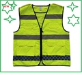 Reflective cycling sports vest construction protective clothingt  reflective safety traffic garments
