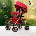 Strollers deck can lie can sit four push baby baby car umbrella car Ultraportability buggies