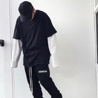 Men Women Tshirt Justin Bieber Kanye West Harajuku Hip Hop Solid Cotton oversized streetwear top funny boyfriend gift t shirt