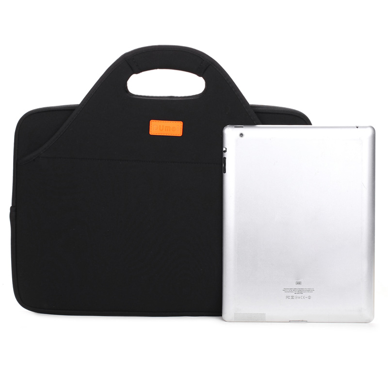 Dumei 3 layers document storage bag computer package laptop case neoprene cloth portable anticollision shock-proof black NF-173 рюкзак case logic 17 3 prevailer black prev217blk mid