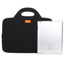 Dumei 3 layers document storage bag computer package laptop case neoprene cloth portable anticollision shock proof