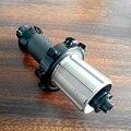 Углеродное волокно дорожный прямой тяга задние ступицы 20H углеродный дорожный велосипед DS03 концентратор 322g 700C концентратор