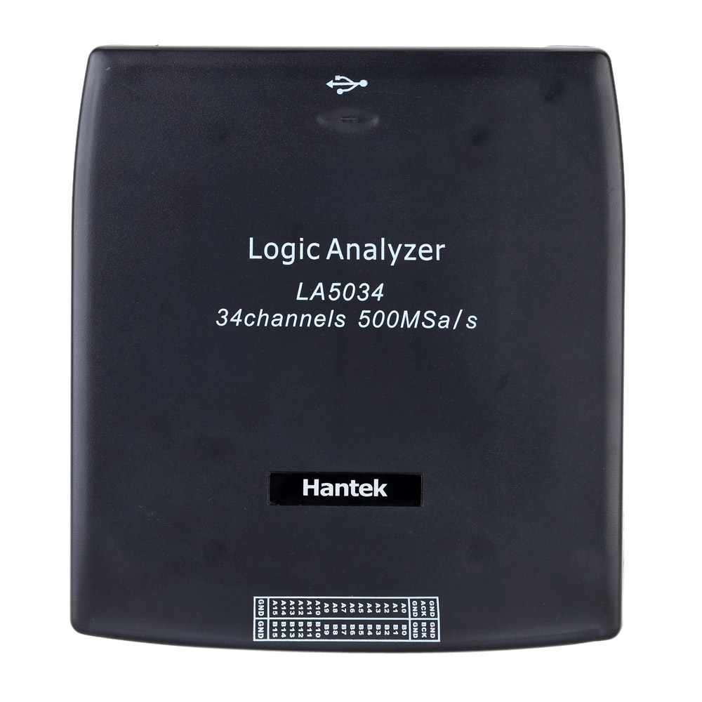 Hantek LA5034 Digital oscilloscope PC USB Logic Analyzer 34CH Sample rate 500MHz Bandwidth 150MHz Digital Osciloscopio Tool цены