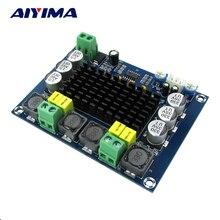 Aiyima TPA3116 Double-canal Stéréo Haute Puissance Numérique Amplificateur de Puissance Audio Conseil TPA3116D2 Amplificateurs 2*120 W Amplificador DIY