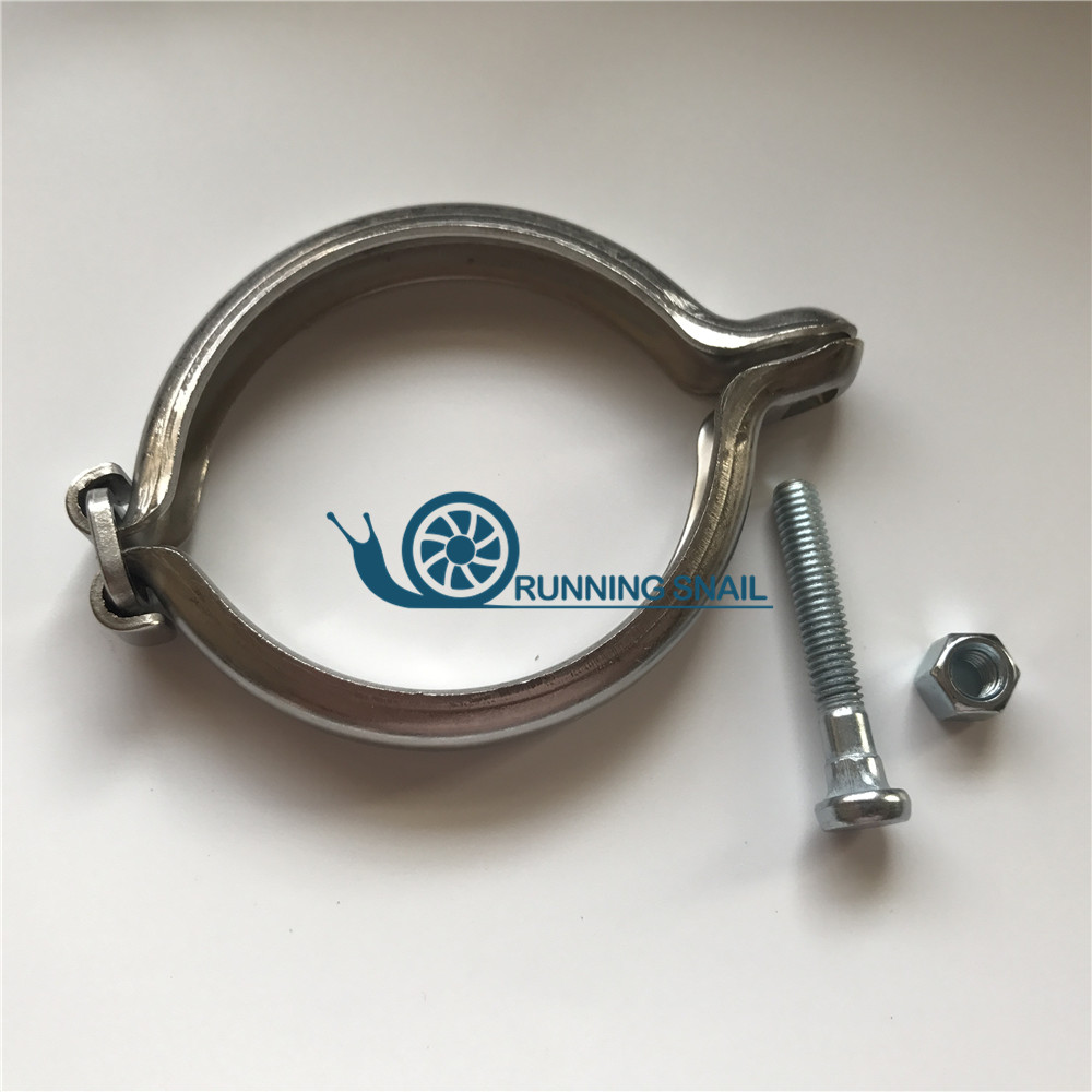 Turbolader V-band Clamp Set 73mm Für BMW <font><b>TOYOTA</b></font> <font><b>Turbo</b></font> CT2 CT9 CT TD04 TD04HL TR-HFQ730 image