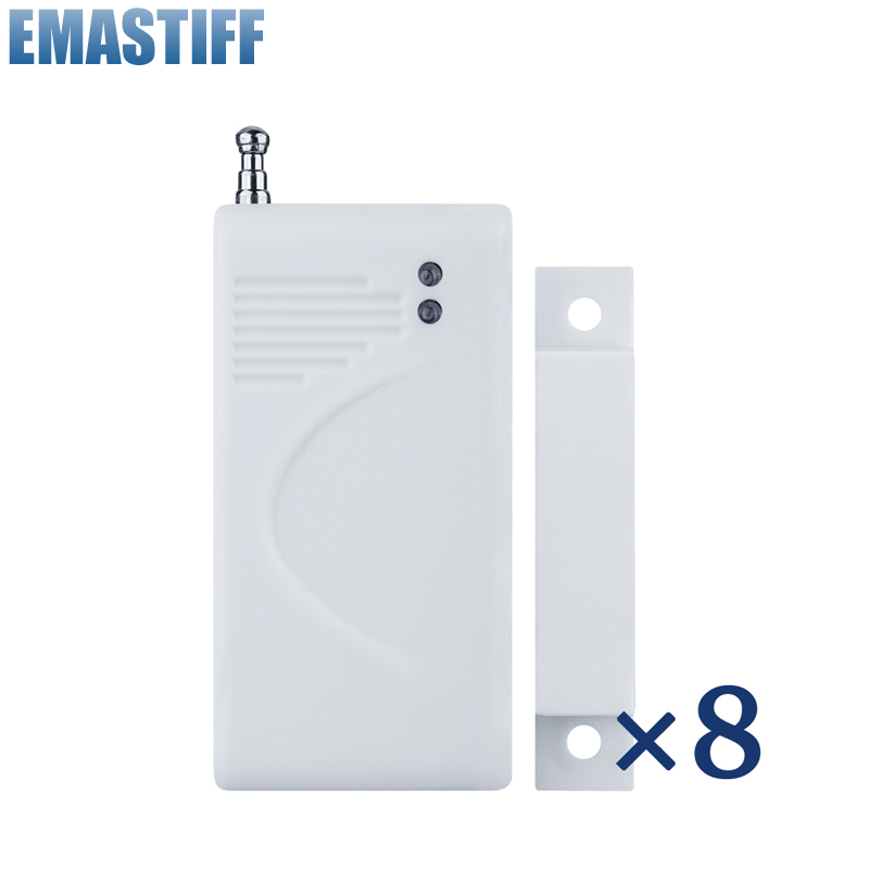 2016 New Selling Free Shipping Wireless Door Window Sensor For GSM Alarm System Detect Window Open and Close wireless door window detector sensor for alarm system detect door windows drawer illegally open and close window magnetic 2pcs