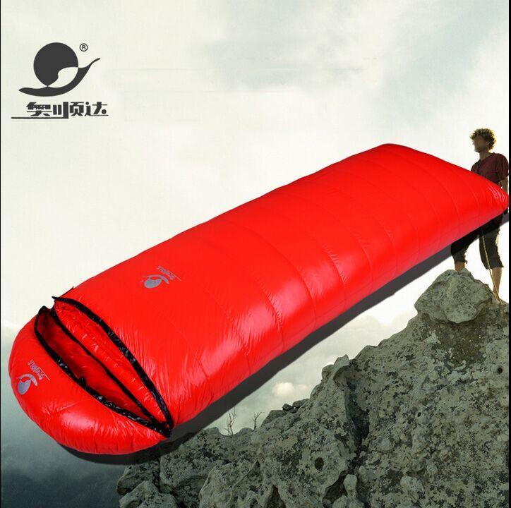 Aoshunda 600 800 1000 1200g Filling Can Be Spliced Waterproof Comfortable 3 Season Breathable Down Sleeping