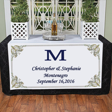 Personalized Runner / Party Table Cloth