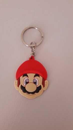 1 шт. Супер Марио мультфильм брелок с фигуркой кольцо для ключей из ПВХ дети подарок вечерние пользу держатель ключа аксессуар-брелок модный брелок