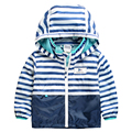 2016 Spring&Autumn Fashion Children Jackets Hooded Outdoor Raincoat Kids Clothes Waterproof Baby Boy Clothing Sports Outerwear