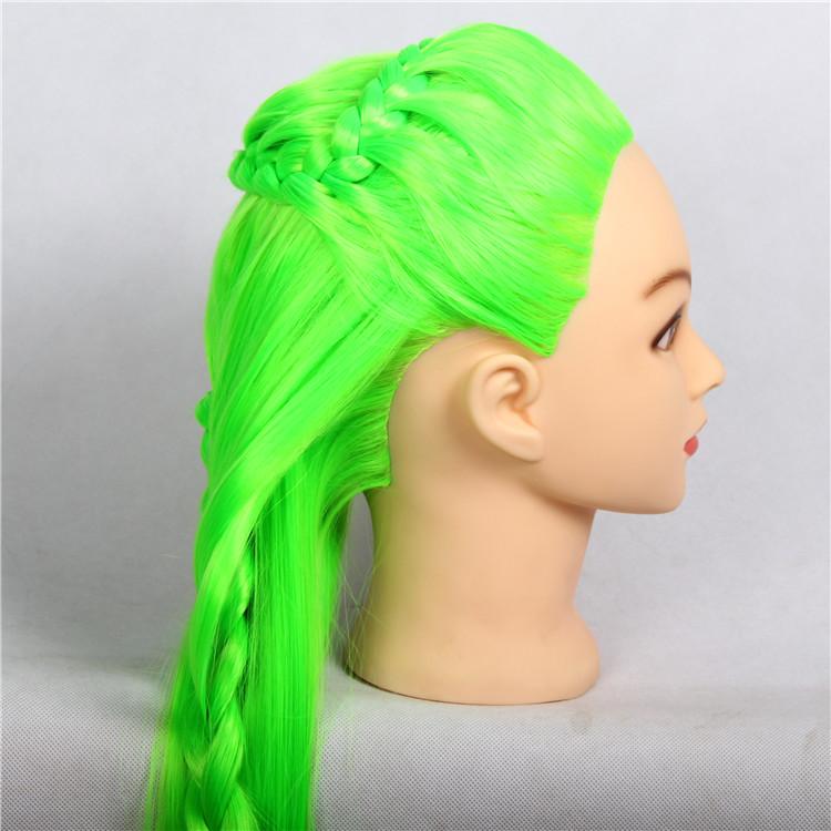 Admirable Online Shop 10 Colors Hairdresser Braiding Training Mannequin Head Short Hairstyles Gunalazisus