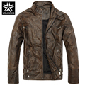 URBANFIND Brand Motorcycle Leather Jackets Men Autumn Winter Clothing Jaqueta De Couro Masculina Warm Lining Size M-3XL