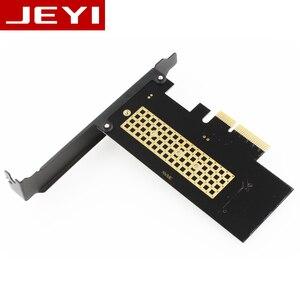 Адаптер JEYI SK4 M.2 NVMe SSD NGFF на PCIE X4, интерфейс M Key, карта Suppor PCI Express 3,0x4 2230-2280, размер m.2, полная скорость