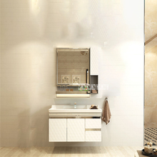 HSL-001 из нержавеющей стали, зеркальный шкаф, настенный шкаф, настенный шкаф, умывальник, раковина, комбинированный шкаф для ванной комнаты, туалетный столик