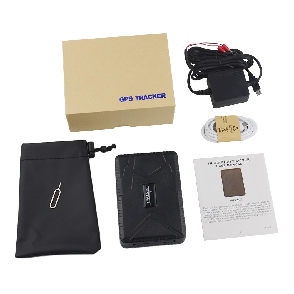Voiture GPS Tracker TK915 véhicule GPS localisateur 10000 mAh batterie en veille 120 jours étanche aimant lâche alarme gratuite piste Web et APP