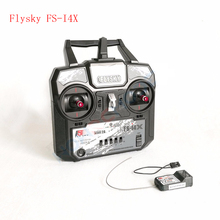 Newest Flysky FS-I4X 2.4G 4ch Radio Remote Control Transmitter+FS-A6 Receiver for RC Helicopter Quadcopter drone