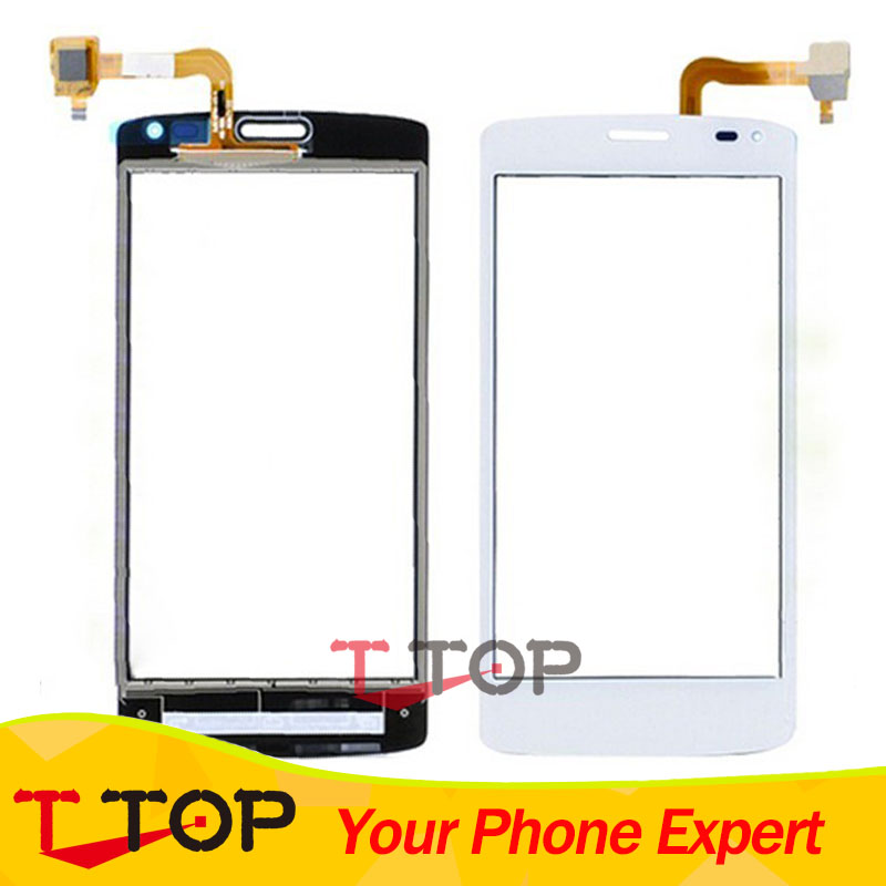 4.5 IQ 4417 Touch Screen Digitizer Outer Glass For Fly IQ4417 ERA Energy 3 Touchscreen Sensor Black White Free Adhesive 1PC/Lot