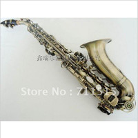 Instrumentos Musicales Profesionales Anti The Little Curved Soprano Saxophone Sax Alto In B Flat Green Bronze
