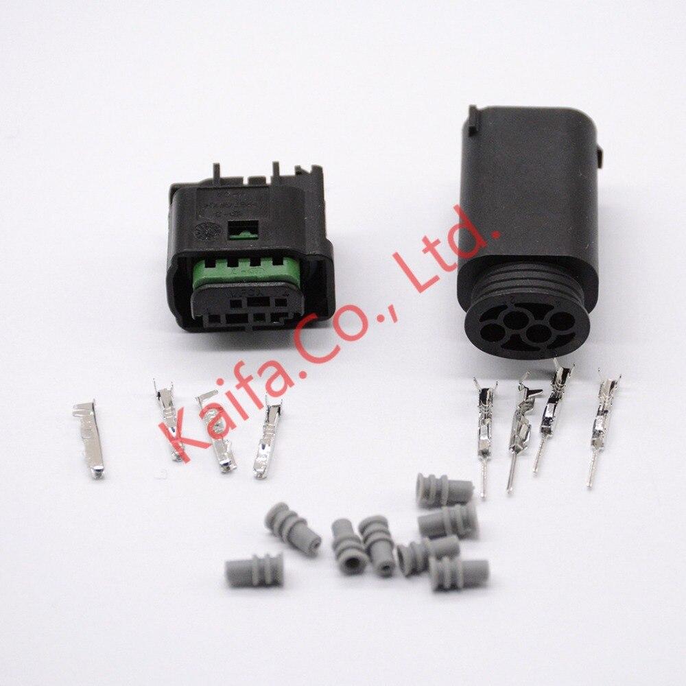 1sets 4Pin Car connector reversing radar plug locomotive taillight steering lamp plug 968399-1 Auto wire harness connector [vk] 553602 1 50 pin champ latch plug screw connectors