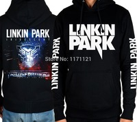 LINKIN PARK BAND Hoodie Death Metal Mens ROCK MUSIC FREE SHIPPINGblack 100 Cotton Hoodie