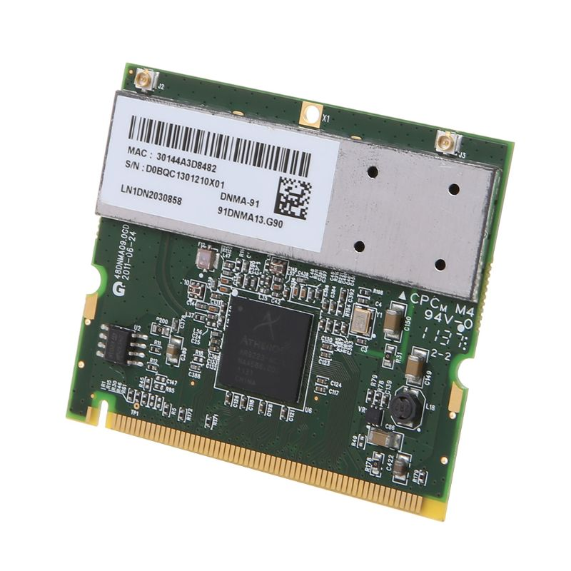 For Atheros AR9223 Mini PCI Notebook Wireless WIFI WLAN Network Card For Acer Toshiba Dell 300M 802.11 A/b/g/n