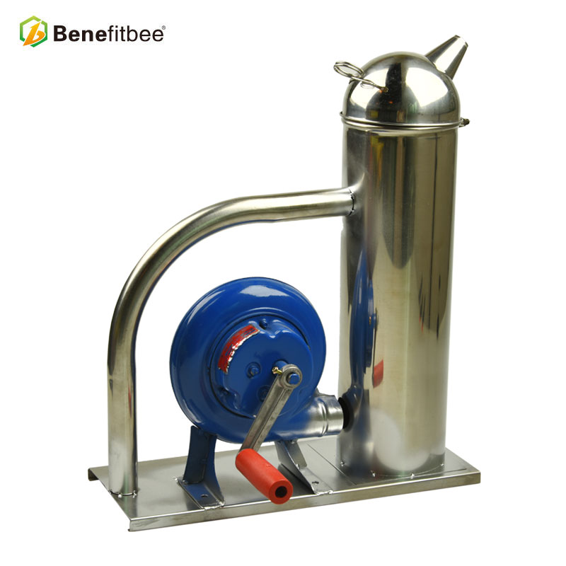 Benefitbee New Designed Bee Smoker Beekeeping Hand-Cranked Smoker Beekeeping Tools For Beekeeper Smokers Apiculture Equipement
