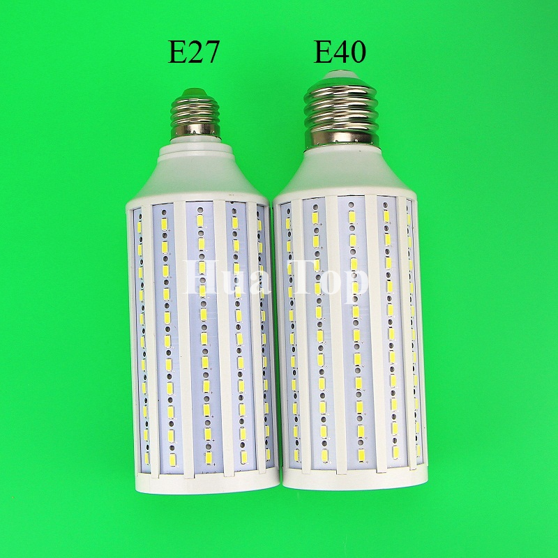 Lampada high brightness 50W LED bulb E40 AC110/220V LED Light 165 LEDs 5730 SMD Corn Lamp Warm White Cold White free shipping lampada ac 220v 9w 12w e27 b22 e14 cob led bulb lamp corn light led spotlight cold white warm white led lighting free shipping