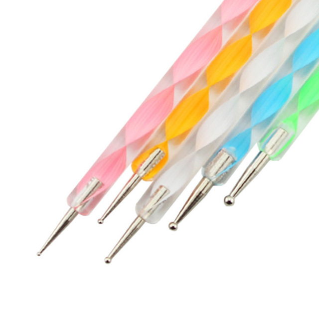 5Pcs Colorful Dotting Tools