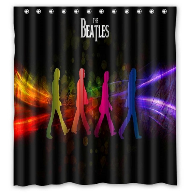 Anime Shower Curtain One Piece Dragon Ball Z Bleach Fairy Tail Naruto  Together The Beatles Shower