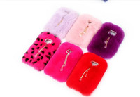 Warm Winter Real Rex Rabbit Fur Hair Case Cover For Samsung Galaxy S8 S8 Plus S6