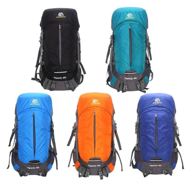 40L Outdoor Mountaineering Bag Nylon Rain Cover Windproof Backpack High-Performance Backpack for Backpacking Picnic Bags