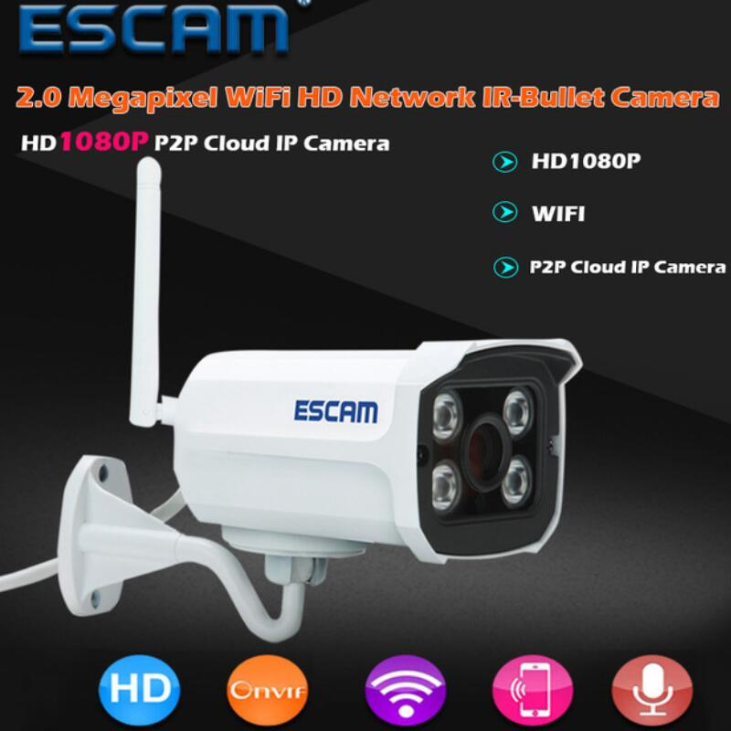 QD900 WIFI 1080P 2.0 Megapixel HD Home Security Camera System Wireless Network IR Bullet Surveillance Outdoor Mini Camera c7815wip wifi ip outdoor waterproof camera 1 0mp megapixel hd cctv wireless bullet surveillance security sysytem home ptz camera