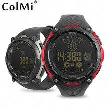 S7 COLMI Bluetooth Pedômetro Relógio Inteligente Homens Desporto Ao Ar Livre Relógio Digital À Prova D' Água IP68 Smartwatch Para Android IOS Telefone