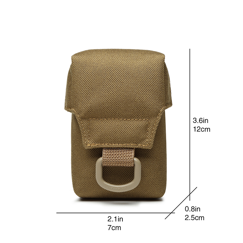 Men Tactical Molle ICOMM Pouch Belt Waist Pack Bag Small Pocket Military Running Travel Camping Bags TW-P010
