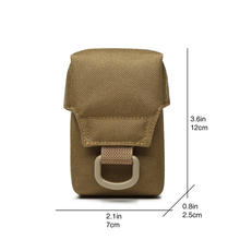 Men Tactical Molle ICOMM Pouch Belt Waist Pack Bag Small Pocket Military Waist Pack Running Pouch Travel Camping Bags TW-P010 tactical molle pouch waist pack hunting bag belt small pocket military waist pack running travel camping outdoor edc phone pouch