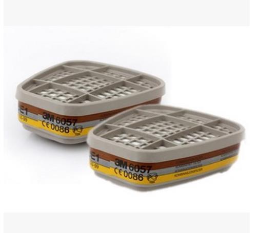 Auténtico caja filtro de carbón activado con el vario gas uso de la máscara orgánica toxic gas ácido filtro de caja filtro