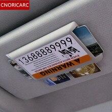 CNORICARC ABS Protezione Solare bordo clip di Carta per Mercedes Benz GLC GLE GLA CLA ML GL accessori per interni Auto