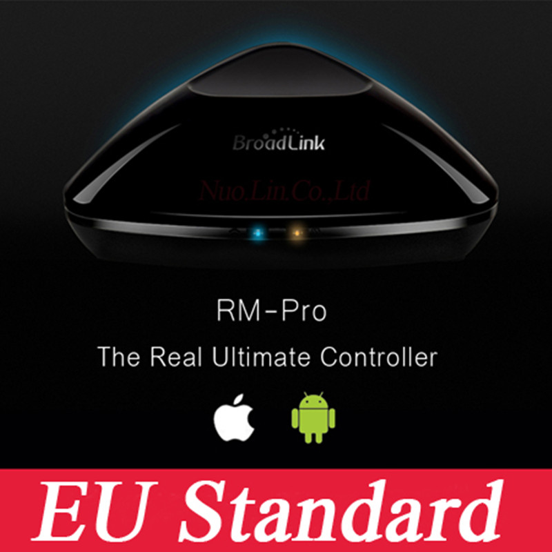Smart Home Broadlink RM2 RM PRO EU Switch,Intelligent Center for Phone,Smart Switches wireless remote control,WIFI+IR+RF free shipping 2017 broadlink rm pro rm03 smart home automation wifi ir rf universal intelligent remote control switch for