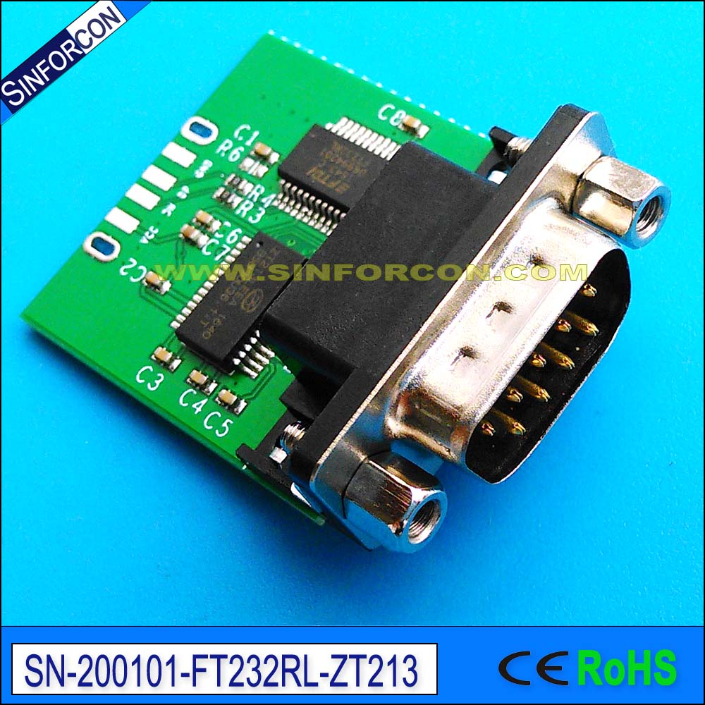 US $3 88 |win10 sinforcon cp2102 ftdi ft232rl usb rs232 adapter with pc db9  virtual com port full pinout usb2rs232 cable-in Computer Cables &