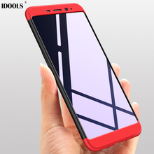 hot deal buy idools cover case for meizu m6s 6 s 6s high quality 3 in 1 full protection matte phone bags cases for meizu m6s 6s shell