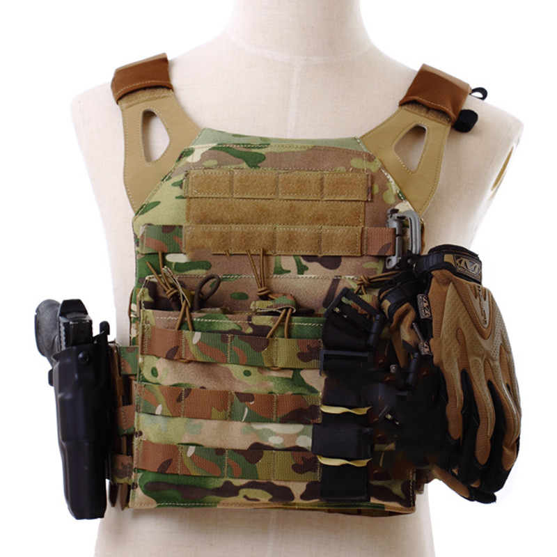 Tactical Military Waistcoat Combat Assault Plate Carrier Vest JPC Ammo Magazine Chest Rig Cs Game Tactical Body Armor Clothes contrast eyelash lace t shirt